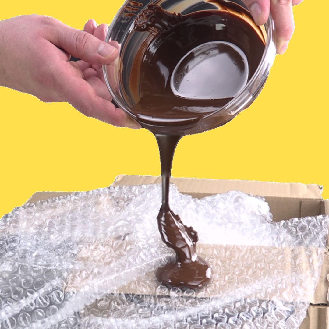 7 decorações de chocolate