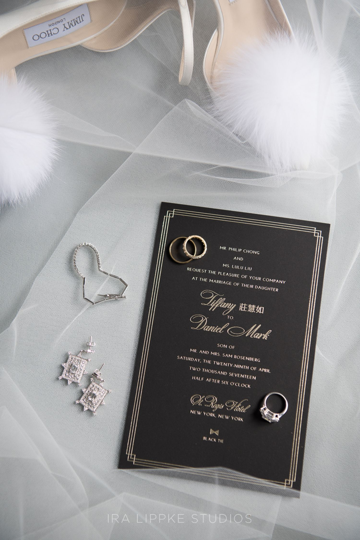 Timeless and Glamorous St. Regis Hotel Wedding in New York City ...