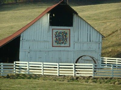 Double Wedding Ring Mountain City Tennessee Barn Art Country