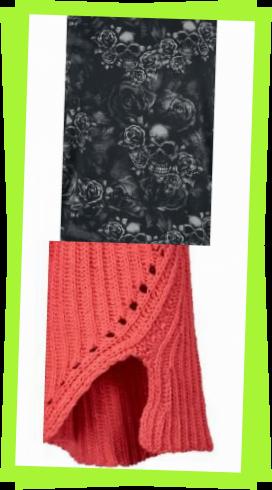 Photo of Gestrickte Schals für Herren, Black Premium von Emp Fast And Loose Longsleeve Black Premium von Emp …