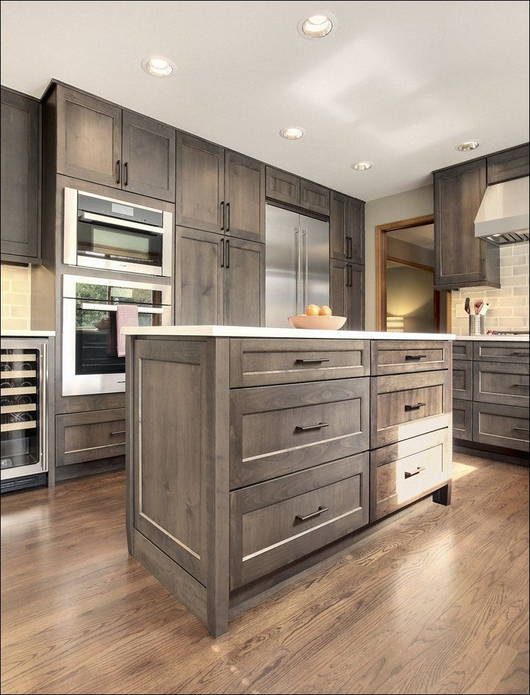 Grey Stained Kitchen Cabinets Black Pictures Gel Stain White Gray Wash Oak Ideas Staining Stained Kitchen Cabinets New Kitchen Cabinets Kitchen Cabinet Design