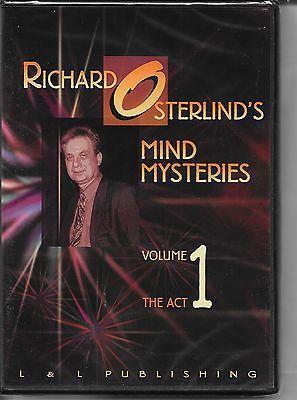 Richard Osterlind S Dvd Mind Mysteries Vol 1 Magic Mentalism Tricks Collectibles Fantasy Mythical Magic Magic Tricks Www Webrum Mystery Mindfulness Richard