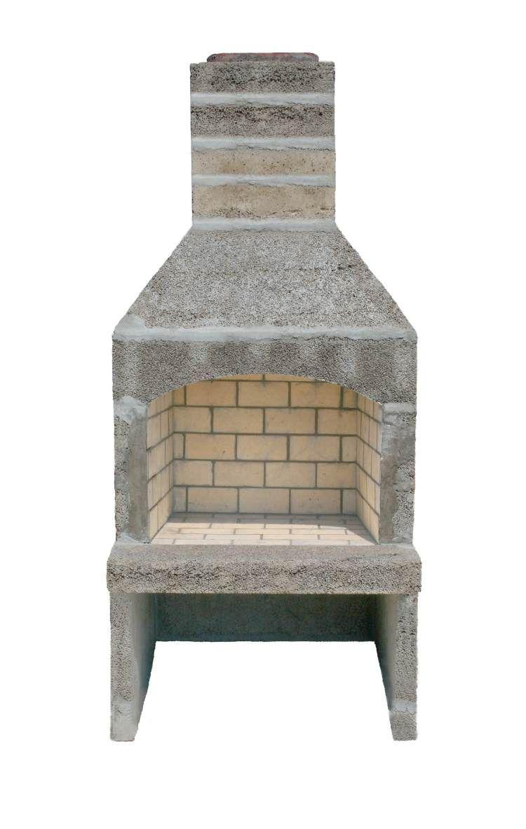 StoneAge Manufacturing Wood-Burning Fireplace Kit ...