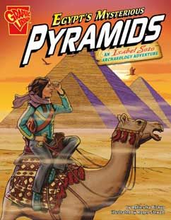 Pyramids - Capstone ebooks.  See your TDSB Teacher-Librarian for password access from home