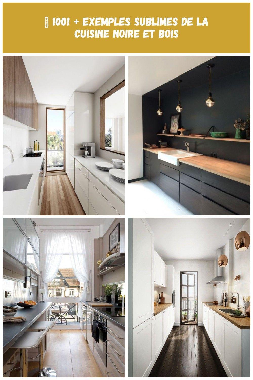 Aménager Sa Cuisine En Longueur idées décoration cuisine : aménager une cuisine en longueur