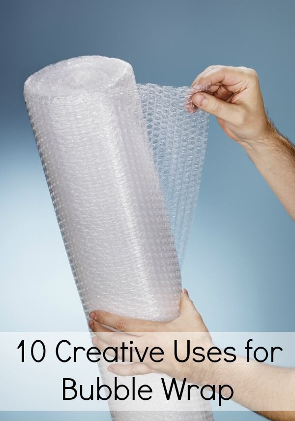 Bubble wrap is fun to pop, but it has many practical uses around the house as well. Here are 10 Creative (and frugal) Uses for Bubble Wrap that you can try. Next time you receive some in a package reuse it instead of tossing
