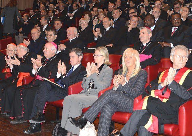 Partecipazione alla Cerimonia di Conferimento della Laurea h.c. a SER Card.  Gianfranco RAVASI (Dies Academicus, Pontificia Università Lateranense, Città del Vaticano 9 novembre 2012).