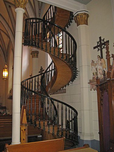 Best High On My List Is To See The Miracle Staircase At Loretto 640 x 480
