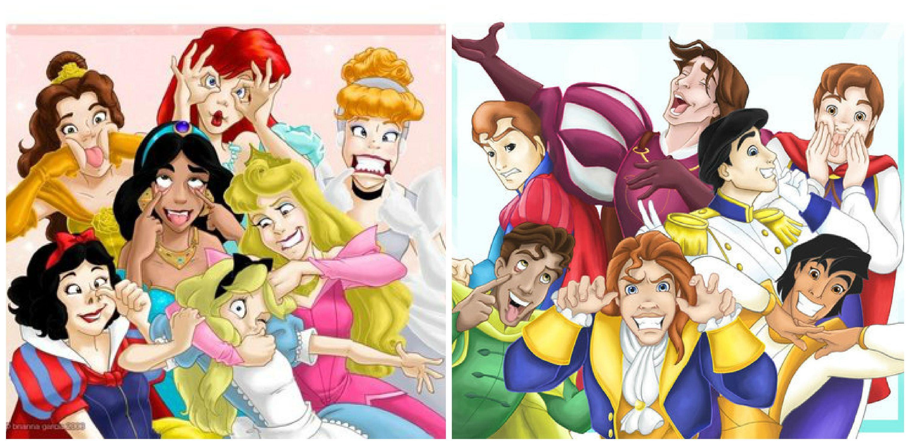 Disney princes and princesses disney pinterest - Prince et princesse disney ...