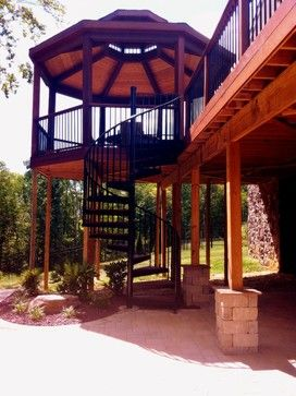 Best 2Nd Floor Decks With Stairs 42 576 Second Floor Deck 400 x 300