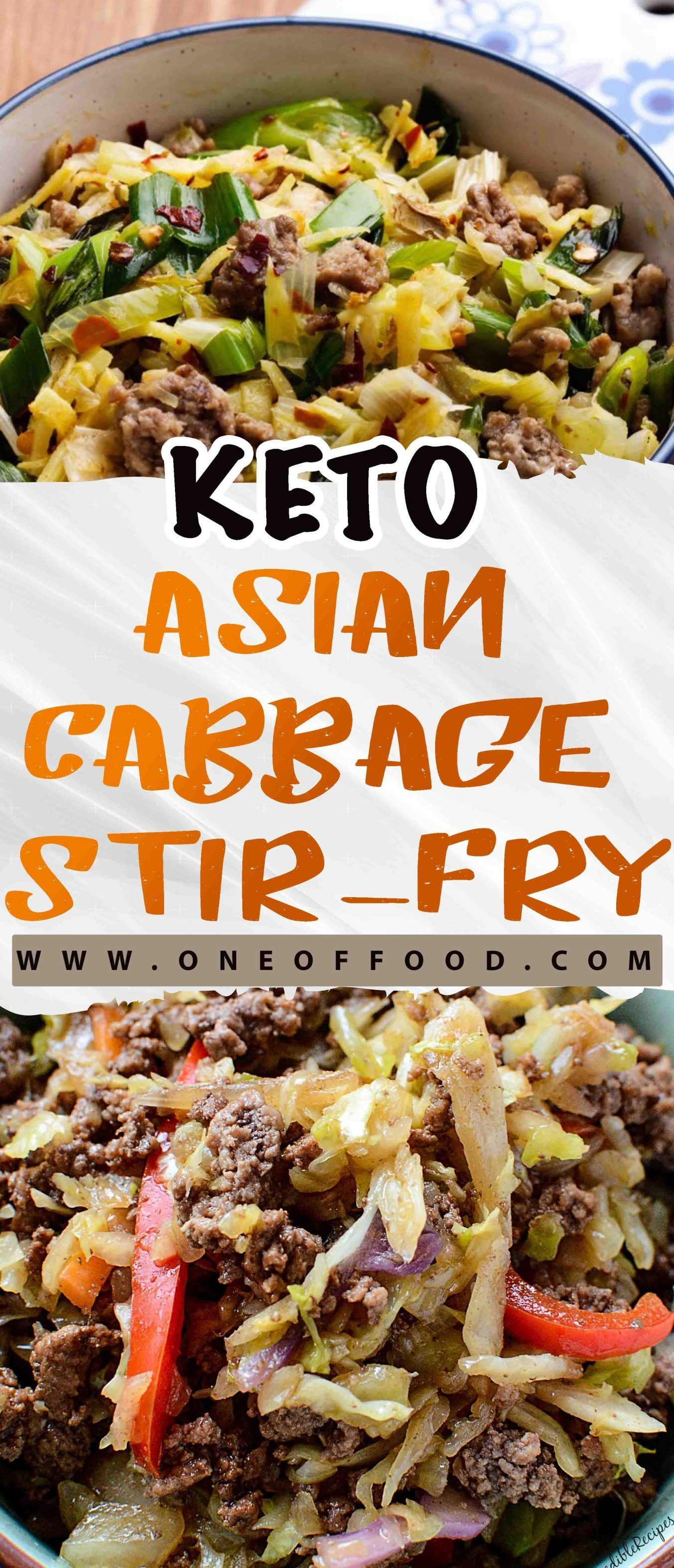 Keto Asian Cabbage Stir-Fry – One of food #cabbagestirfry Keto Asian Cabbage Stir-Fry – One of food #cabbagestirfry