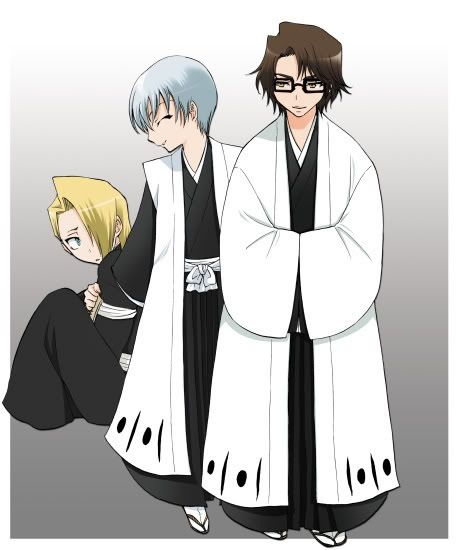 Aizen Gin And Izuru