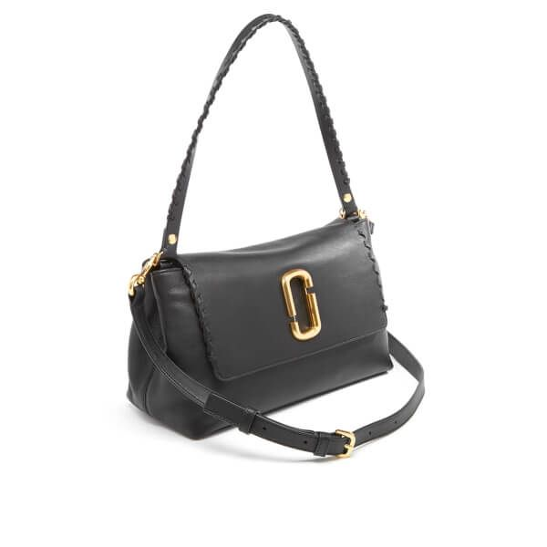 4b338f473d Marc Jacobs Women s Noho Leather Shoulder Bag - Black