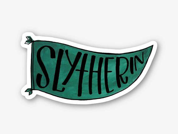 Slytherin Vinyl Sticker Hogwarts House Vinyl Sticker