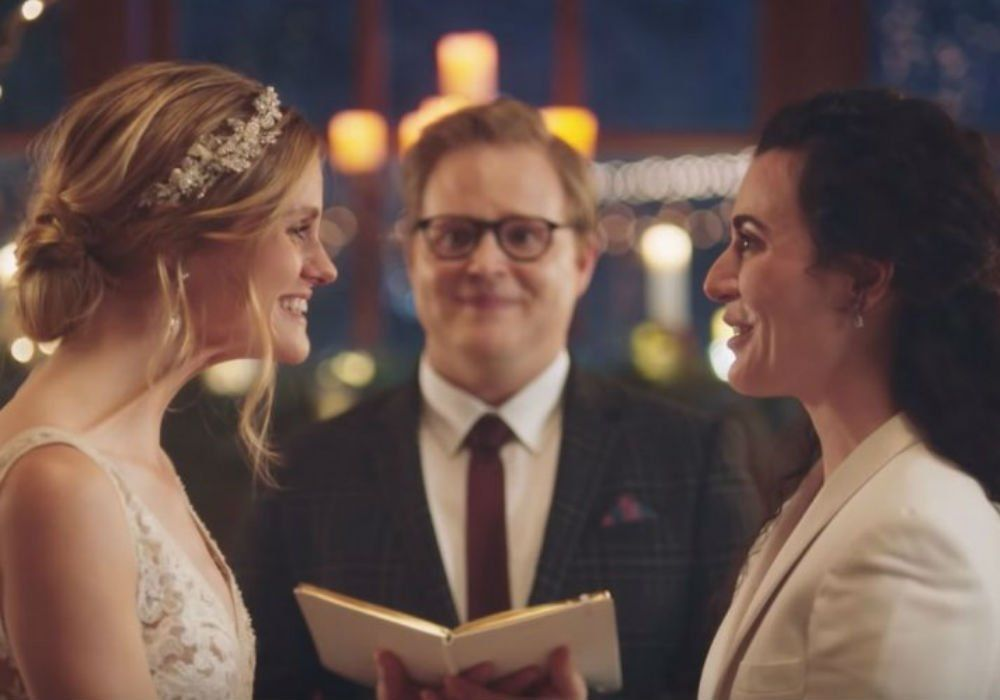Hallmark Channel Apologizes For Pulling Commercial That Features A