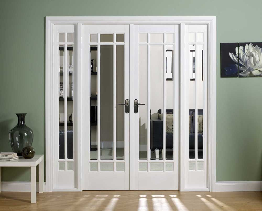 interior of french image prehung doors painted home double charter ideas