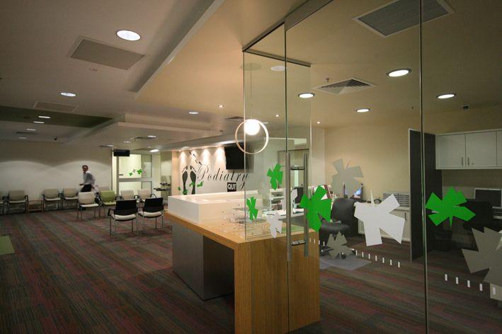 Pdt Architects | Qut Podiatry | Architecture | Interior Design | #health  #podiatry |