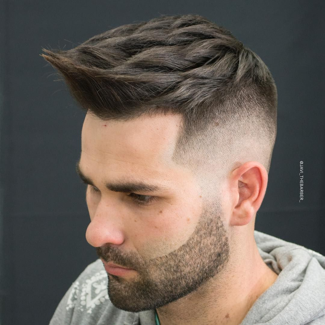 Shaved sides haircut men  best high fade haircuts for men   mens hairstyles