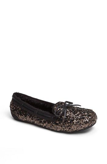 #Sequin 'All Decked Out' Slipper $49.95 Get 5% cash back http://stackdealz.com/deals/Nordstrom-Coupon-Codes-and-Discounts--/