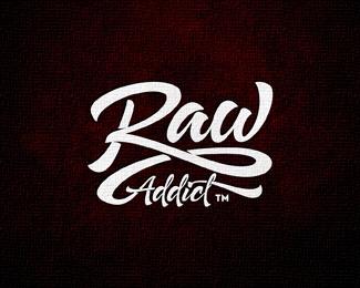 Revised Raw Logo Typo Logo Design Graphic Design Logo Branding Design Logo
