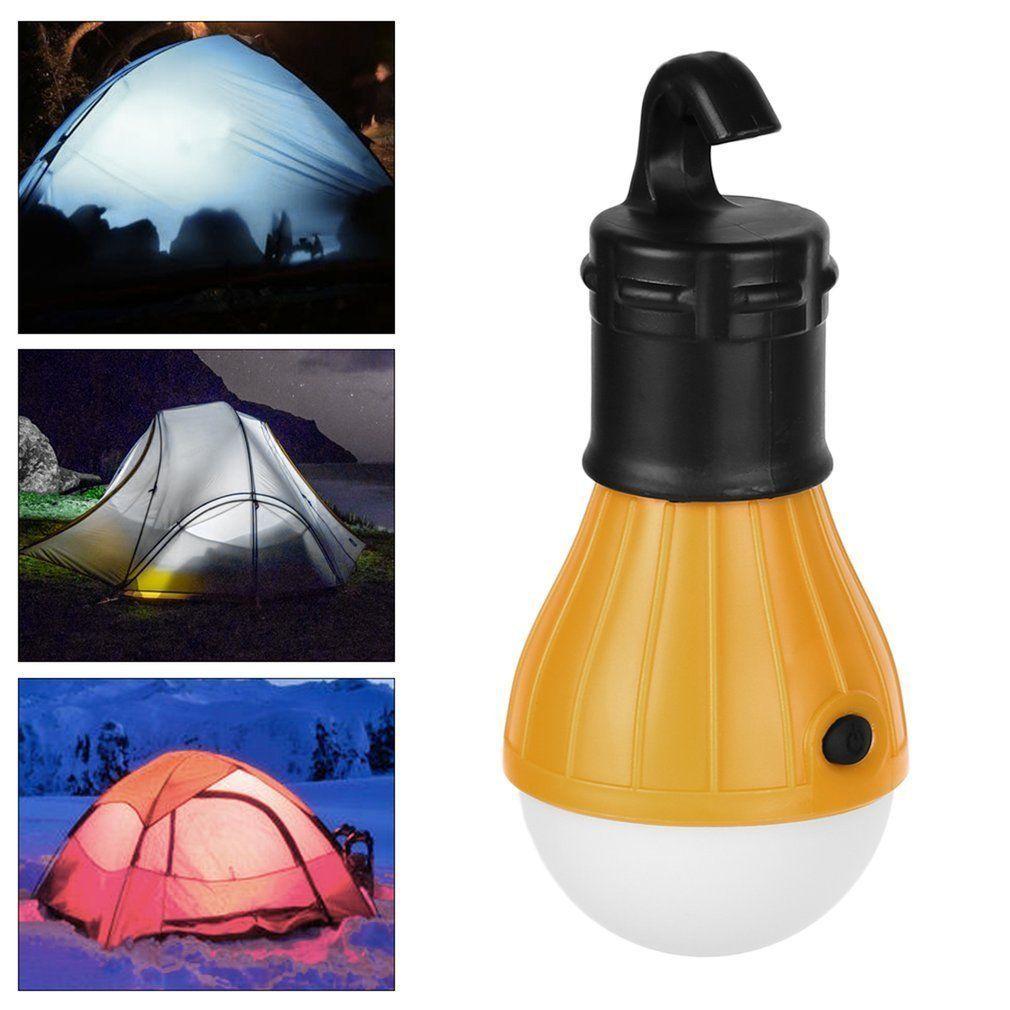 1 12 100x Led Portable Camping Emergency Tent Light Lantern