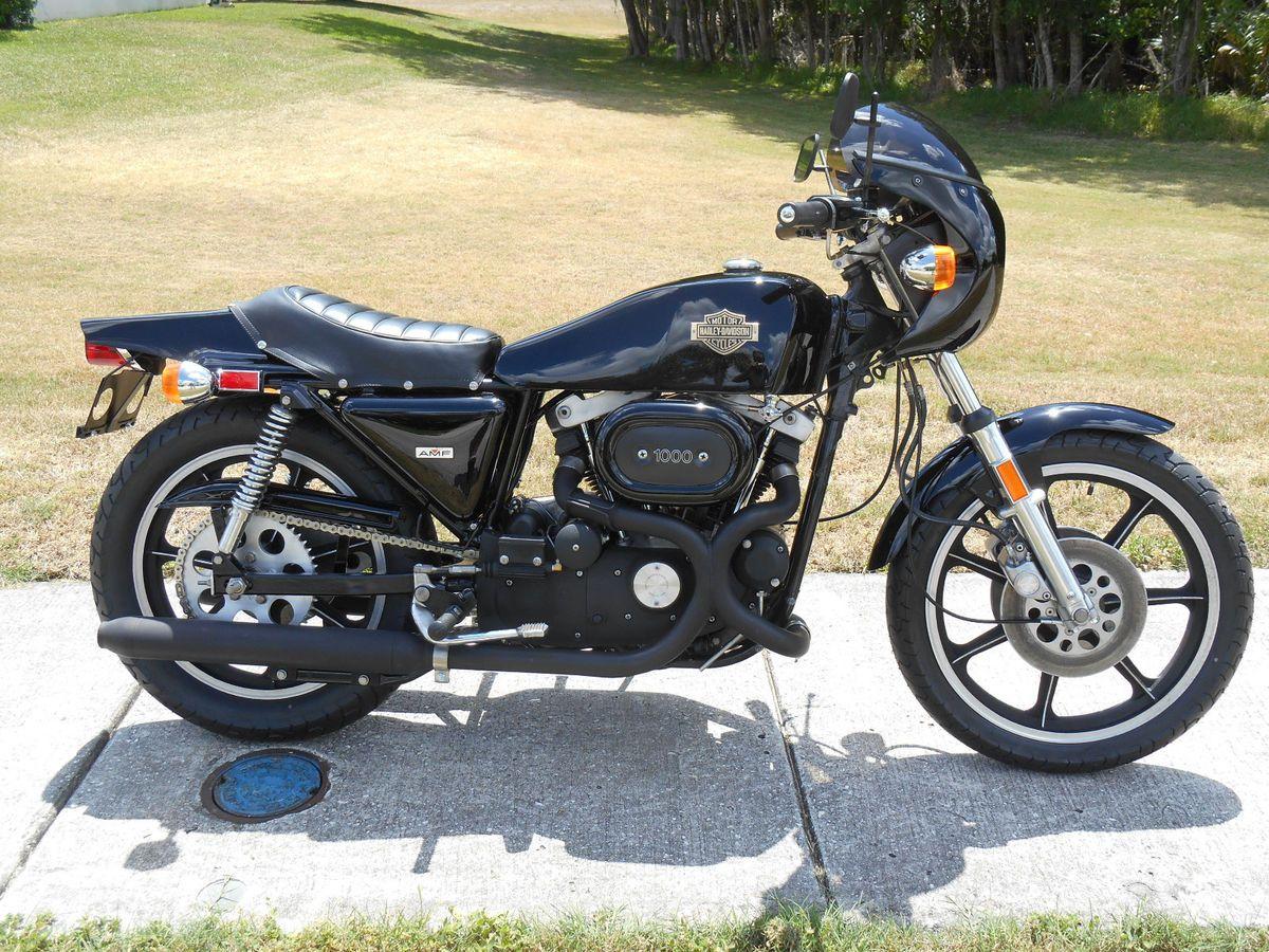 1977 Harley-Davidson XLCR Cafe Racer for sale via Rocker co