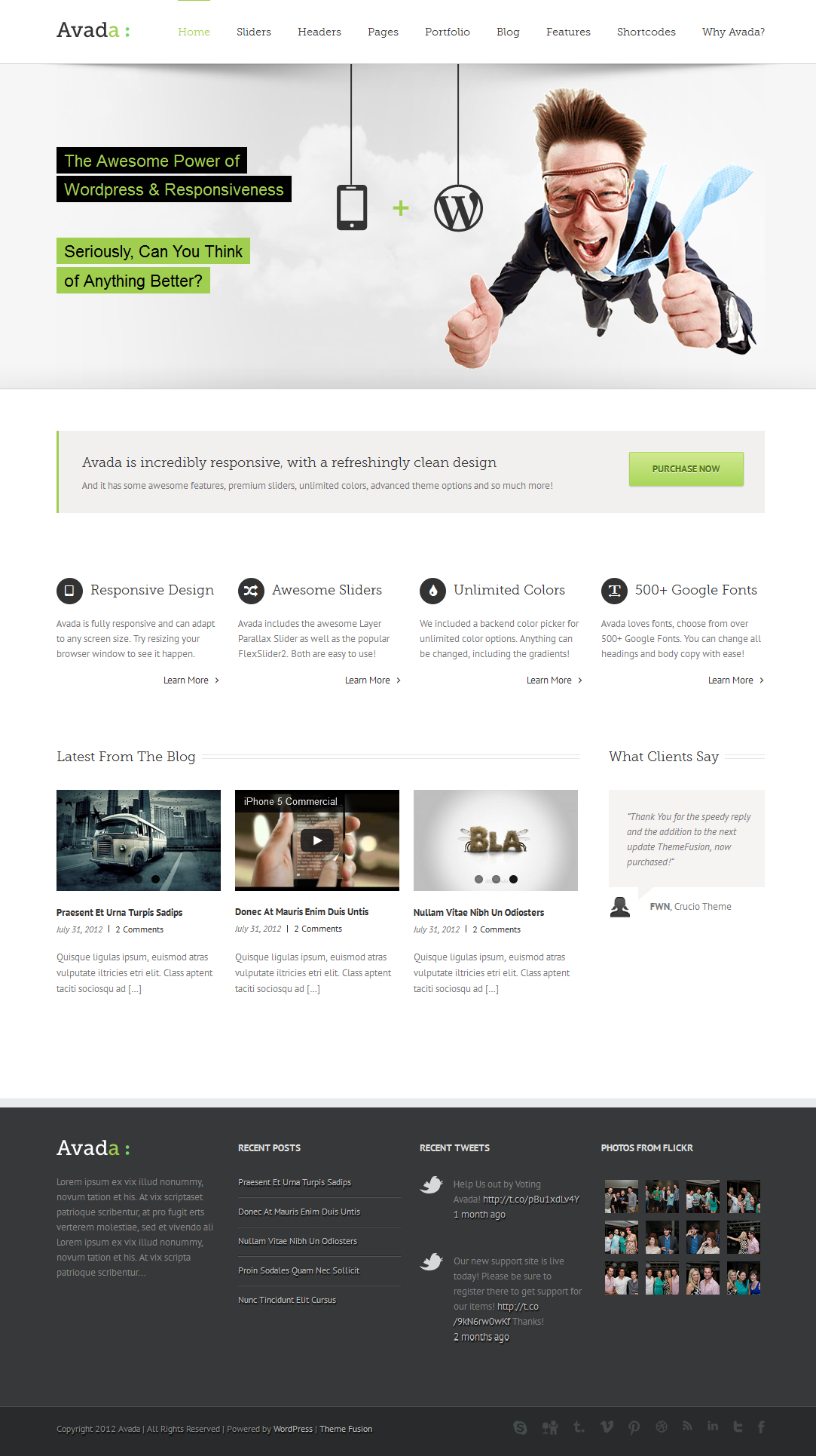 Pin by Aunt Web on Responsive Wordpress Themes - Mobile HTML5/CSS3