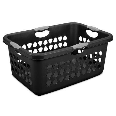 Sterilite Bushel Ultra Laundry Basket Black Available In Set Of 6 Or Single Unit Laundry Basket Sterilite Basket