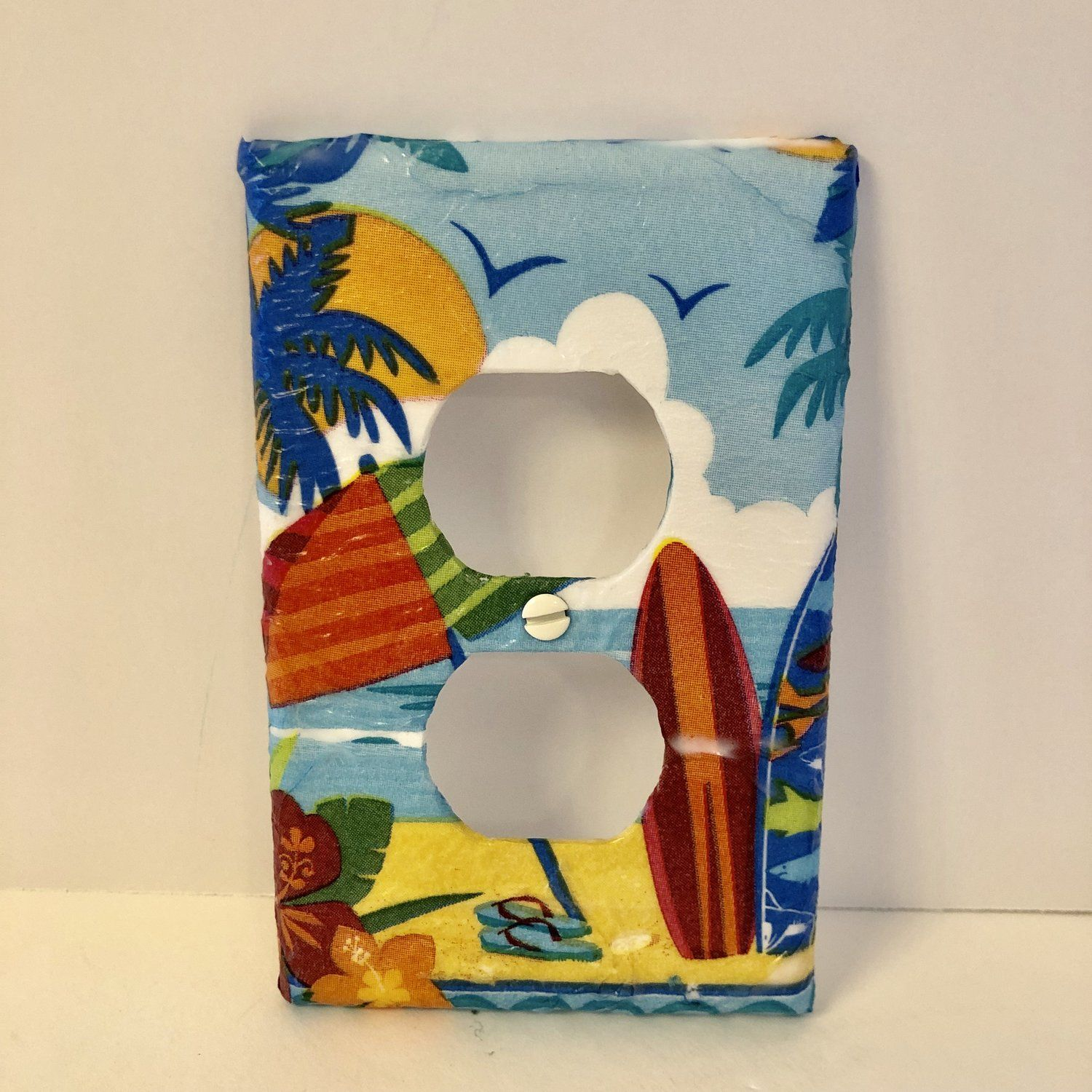 Decorative Wall Plates Outlet Covers Othertreasures Gone Coastal Plates On Wall Electrical Outlet Covers Outlet Covers