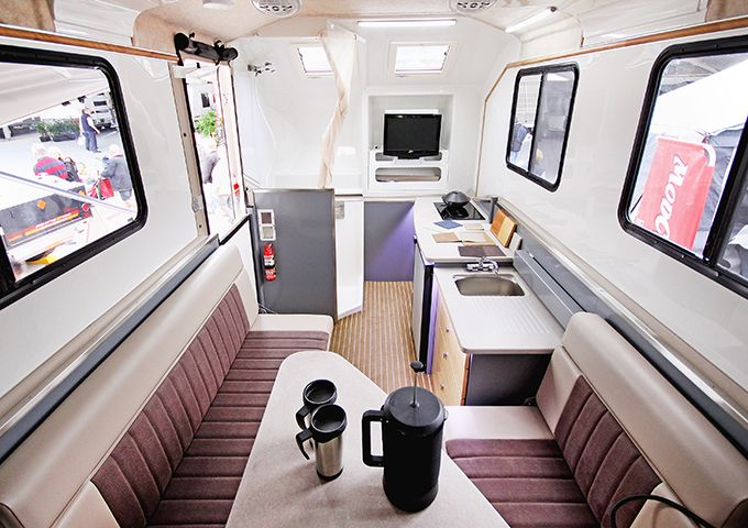 Offroad Caravan Interior Off Road Camper Trailer