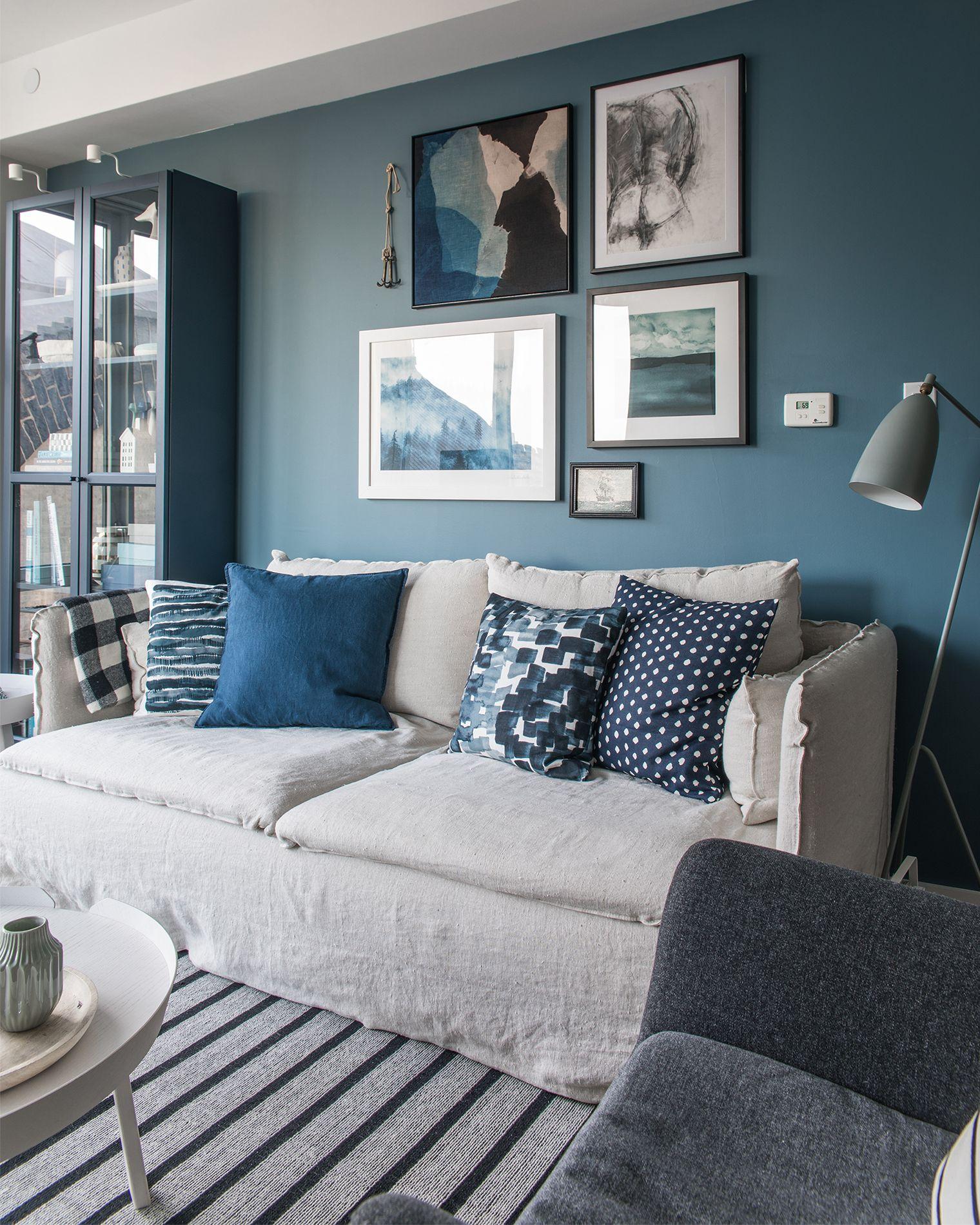 NYC Apartment Autumn Design Updates: Bemz IKEA SÖDERHAMN Sofa ...