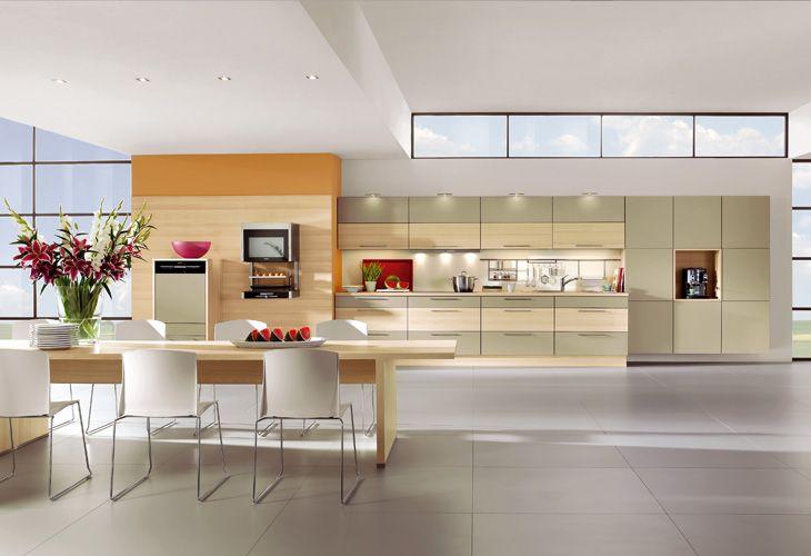 küche in grün #küchenzeile #wohnküche www.dyk360-kuechen.de, Kuchen