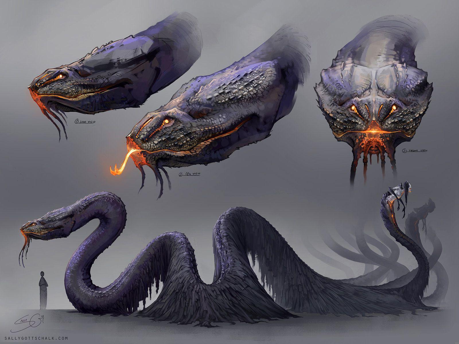 creature concept art 1