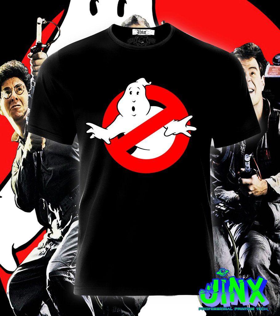 Playera o Camiseta Ghostbusters - Jinx  f00eba963882e