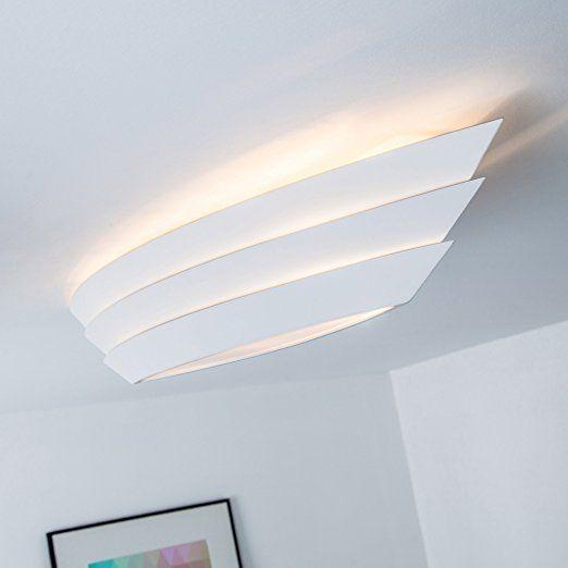 Hochwertige Deckenleuchte im modernen Design, 3x E27 max 25W - Led Deckenlampen Küche