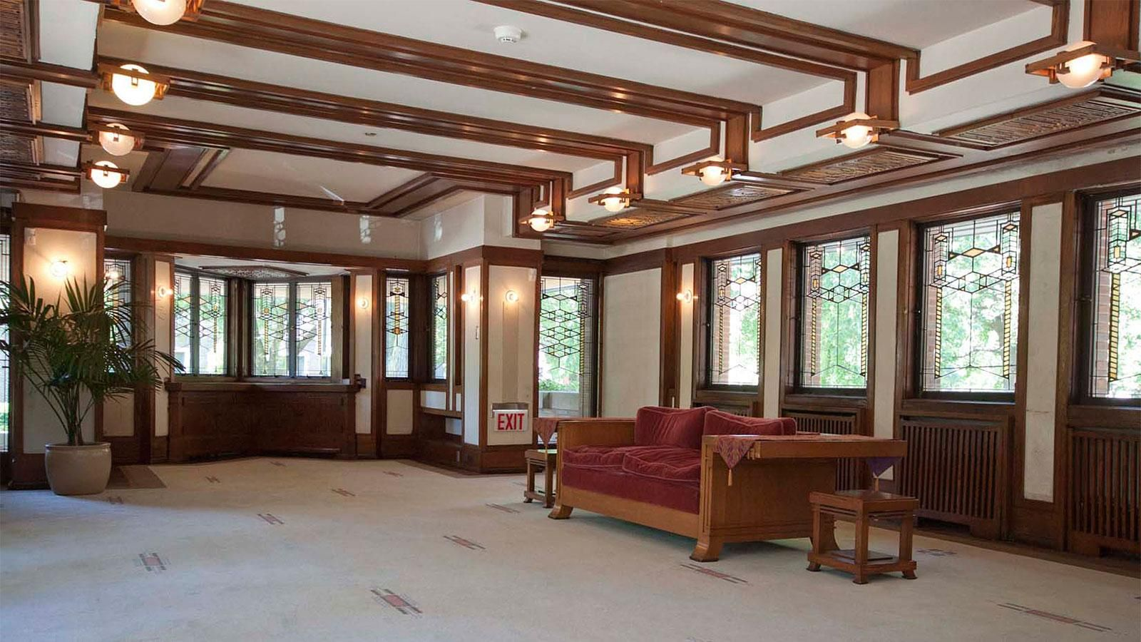 Robie House Throughout the 19th century, home design in America ...