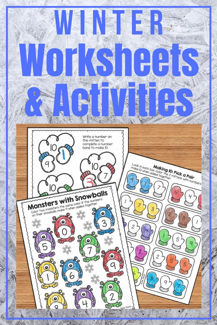 Winter Graphing Worksheets Kindergarten