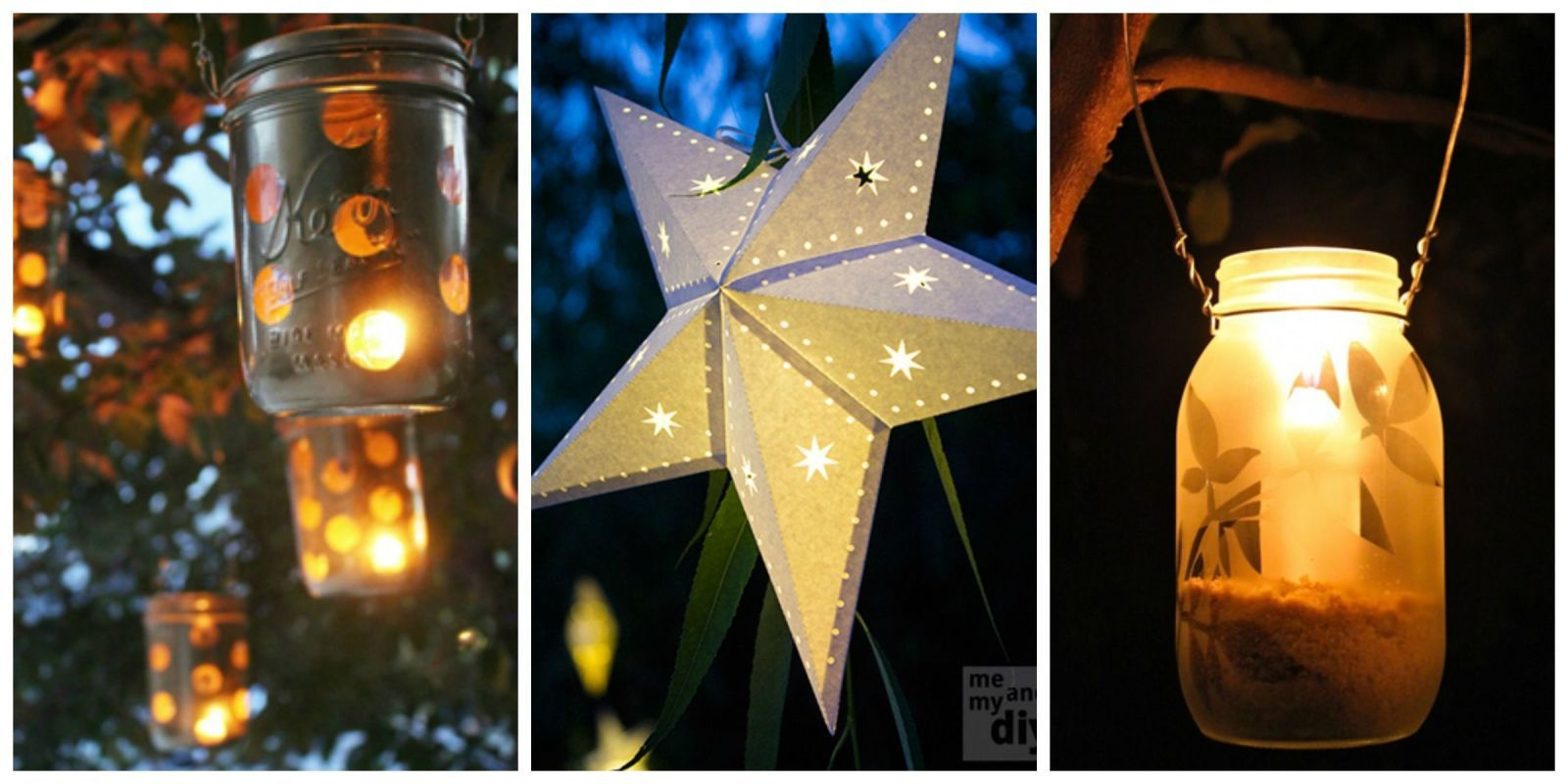 11 DIY Lanterns That Will Light Up Your Summer | Lights, Craft and ...