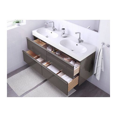 godmorgon br 197 viken sink cabinet with 4 drawers high 14455
