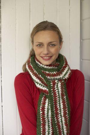 Christmas Scarf   Crochet Christmas   Pinterest   Christmas scarf ...