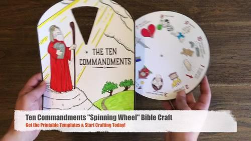 free printable ten commandments crafts Cerca amb Google