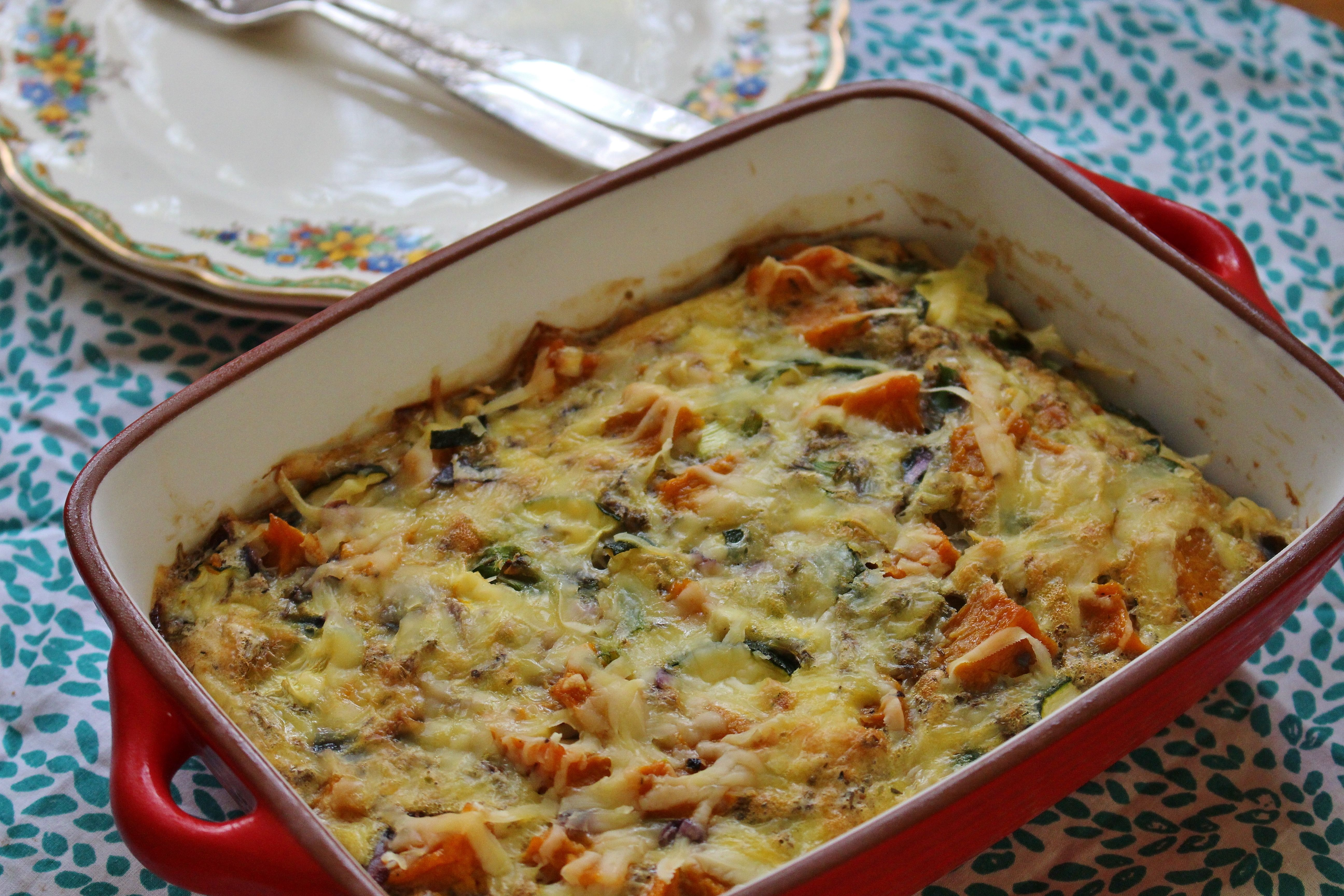 Sweet roasted butternut squash and fresh zucchini are baked ineggs mixed with herbs and garlic for a flavoursome, filling, and healthy meal. Try a generous serving of this crustless quiche with a …