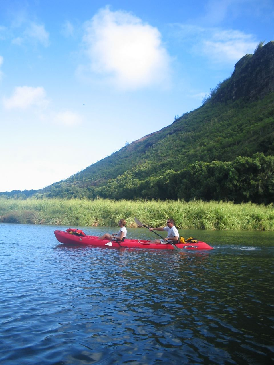 Guided Canoe And Hiking Trips In: Wailua River & Secret Falls