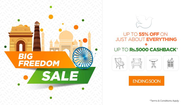 Freecharge Ebay Offer : Get 10% Cashback Upto Rs 50