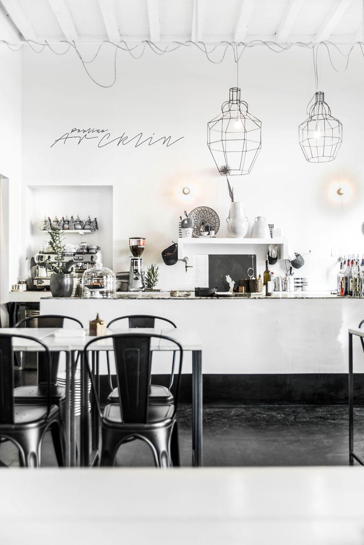 white restaurant design prepossessing black and white restaurant