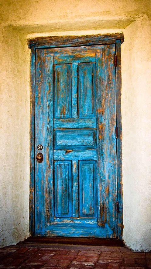 Old Blue Door by Dave Villa