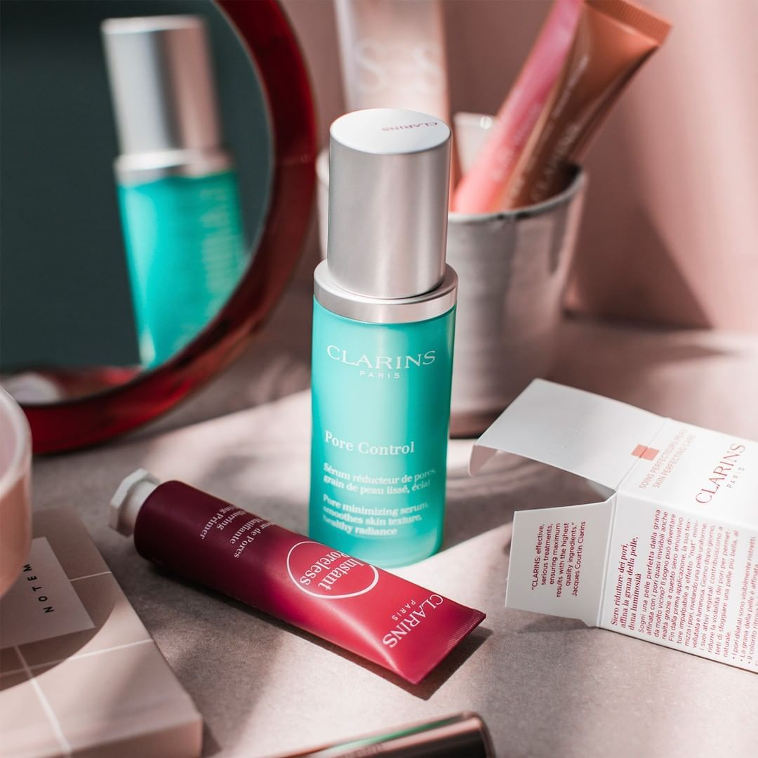 "CLARINS USA on Instagram ""Nofilter zone! Make pores"