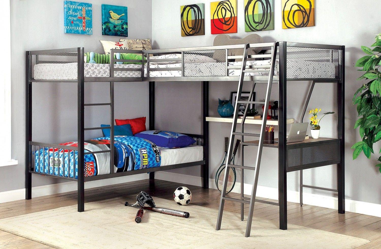 Corner Loft Bunk Beds Interior Paint Color Ideas Check