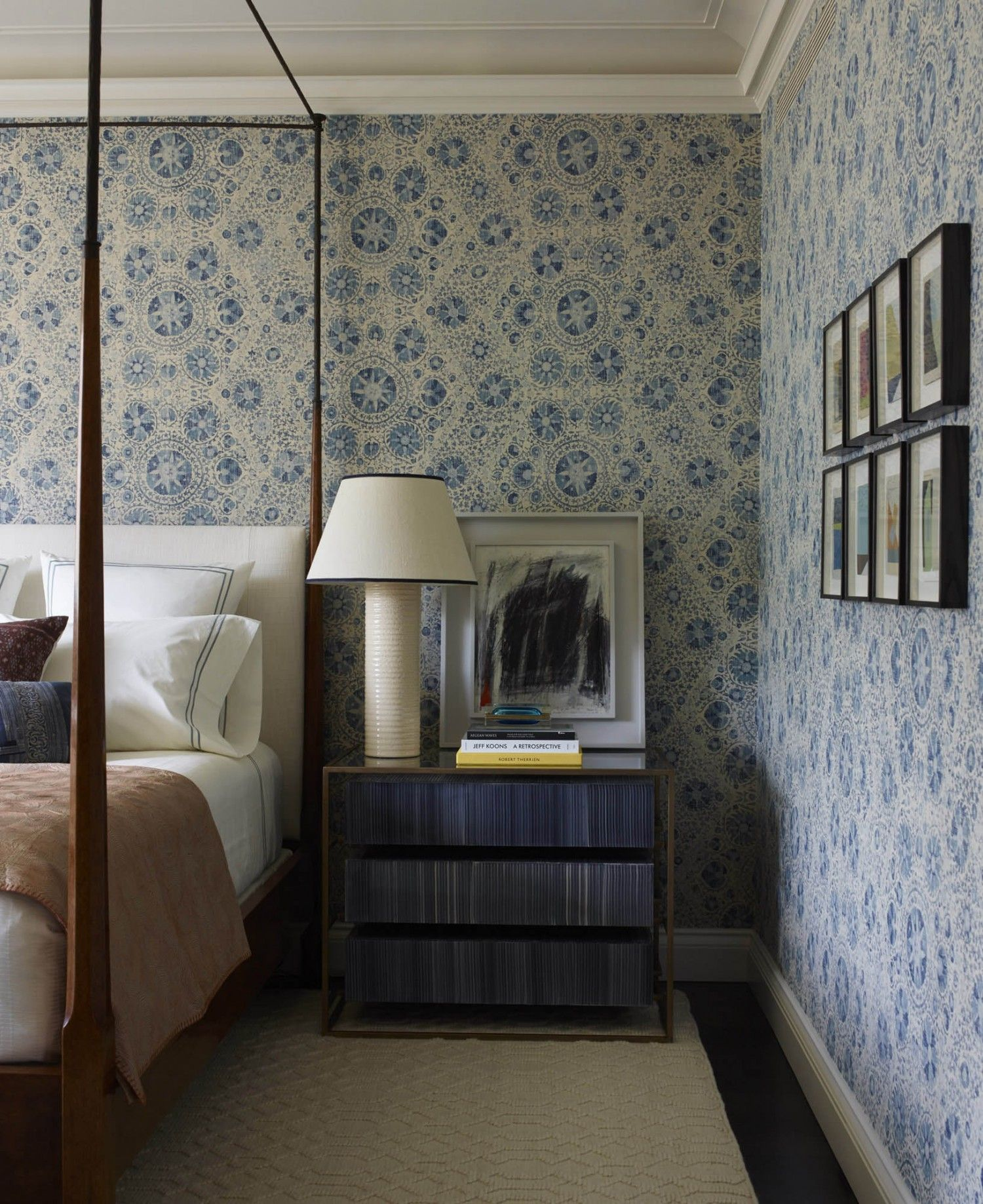 Simple yet sytled bedroom idea tammy connor interior design