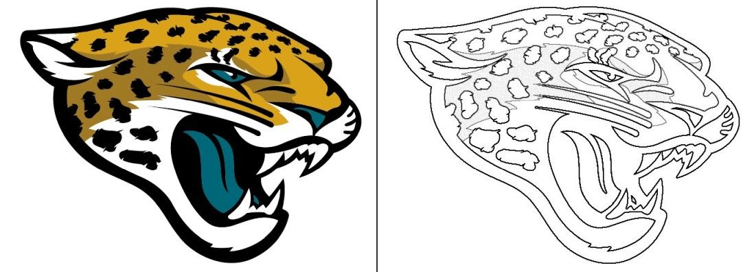 Jaguars Logo Coloring Page In 2020 Texans Logo Washington